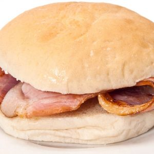 Hot Breakfast Baps